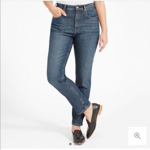 High Rise Straight Everlane Jeans